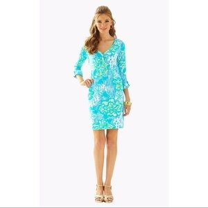 Lilly Pulitzer Palmetto Button Front T-Shirt Dress